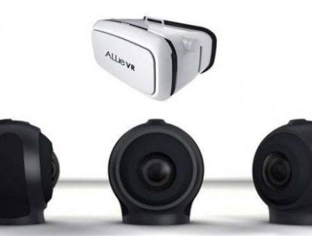 FluidCast VR integrates its 360 VR Application with the ALLie Cam 360 VR Camera