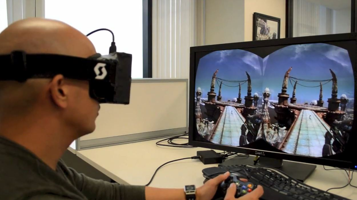 Virtual Reality Video Game Development